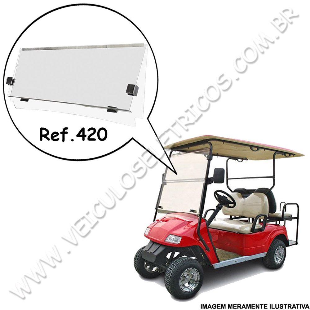 Para-brisa para carrinho de golfe Zoomcar