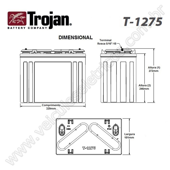 Trojan T 1275