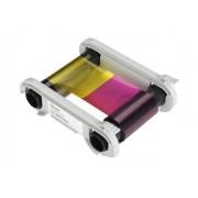 Fita Evolis Colorida com Overlay R5F008AAA (YMCKO) para 300 impressões