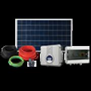 Kit Gerador Solar Fotovoltaico Micro Inversor 1300w com Projeto incluso