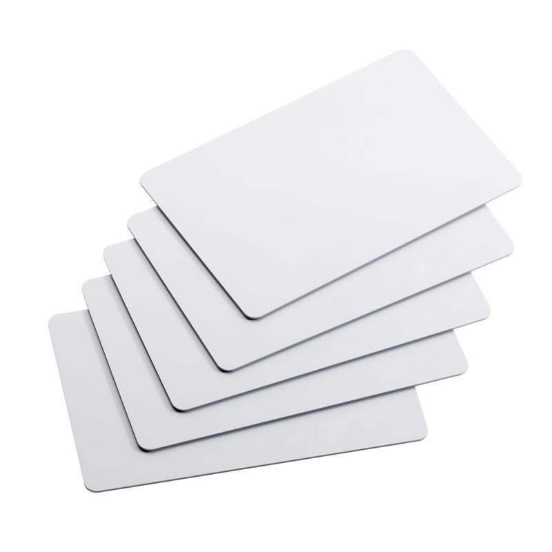 Cartão de PVC Branco 30mil 500 unidades