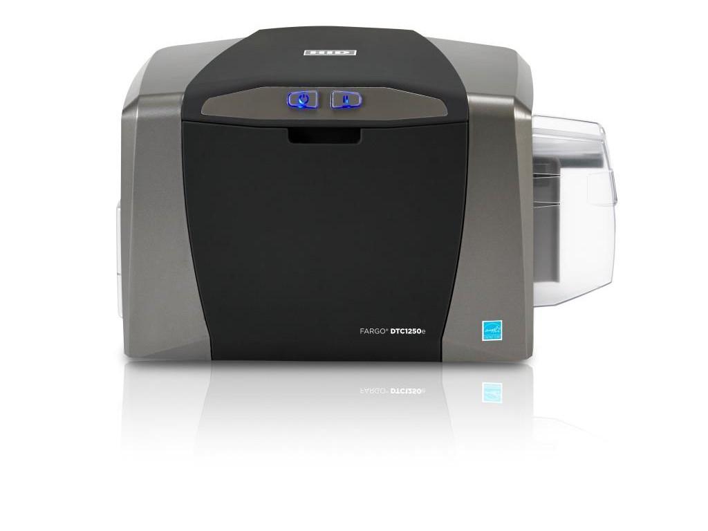 Impressora Fargo DTC1250e  c/ Gravador de Chip  Mifare - Fargo (face única)