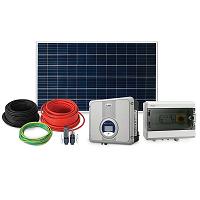 Kit Gerador Solar Fotovoltaico Inversor 5kW com Projeto Incluso