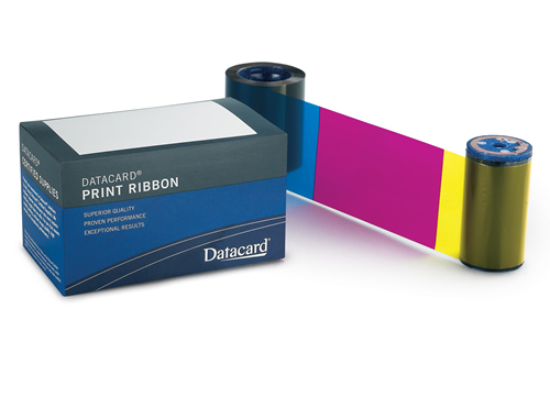 Ribbon Color YMCKT 500 impressões - Datacard - CD800/820
