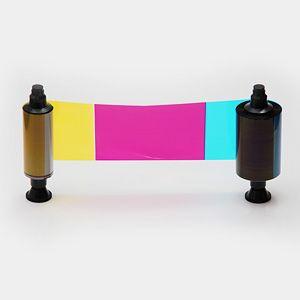 Ribbon Colorido Evolis R3011 - 200 impressões - Compatível