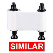 Ribbon Monocromático  Branco Evolis R2015 - 1000 impressões - Compatível