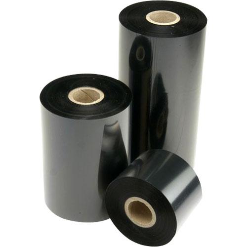 Ribbon Monocromático Preto de Cera  ( 12 rolos )