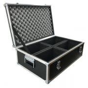 Hard Case Baú para 4 Mini Moving 10w / 20w / 30w - RS
