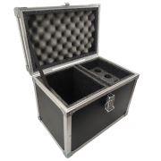 Hard Case Maleta para 6 Microfones com Vão para Acessórios - RS