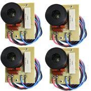 Kit 4 Unidades - Divisor de Frequência 1 Via TI (Driver's Peq e Medios) - 100W