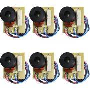 Kit 6 Unidades - Divisor de Frequência 1 Via TI (Driver's Peq e Medios) - 100W