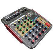 Mesa de Som 4 Canais - USB / Bluetooth / Phantom Power - BP-6171 - Briwax