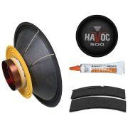 Reparo Alto Falante 10'' - HAVOC 500 ST (4 Ohms) - Oversound (SOB ENCOMENDA)