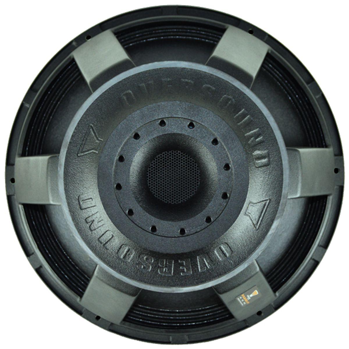 """Alto Falante 18"""" - Sub 800 XT (4 Ohms) - Oversound  - RS Som e Luz!"""