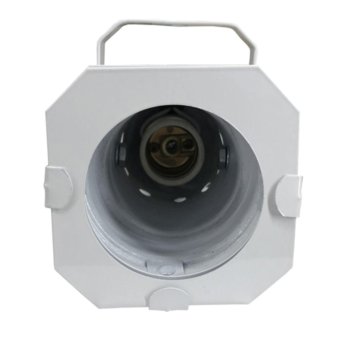 Canhão Spot Par 20 Branco - Volt  - RS Som e Luz!