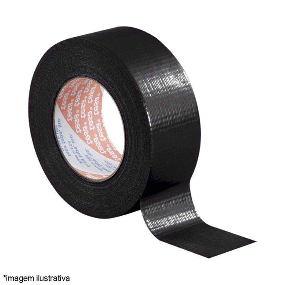 Fita Silver Tape Preta ( Pista de Danca / Multiuso ) 48mm x 10mt - Adelbras