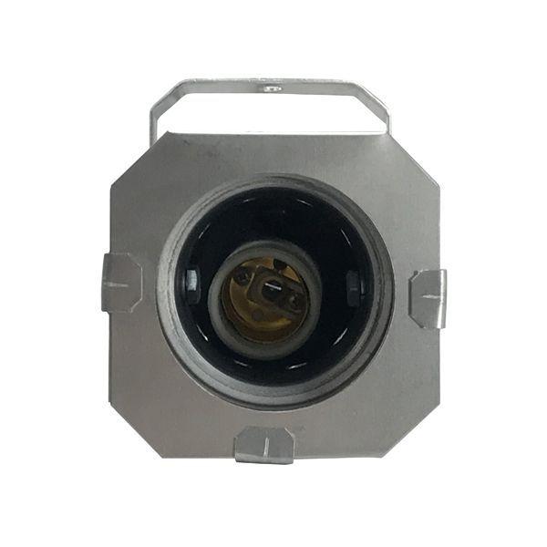 Kit 10 Unidades - Canhão Spot Par 20 Prata (Polido) - Volt  - RS Som e Luz!