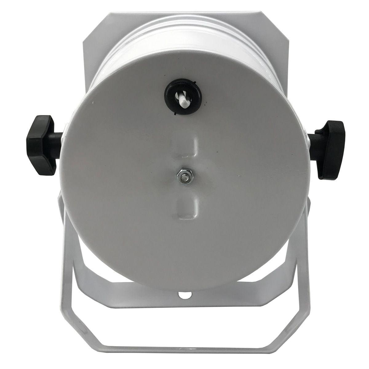 Kit 10 Unidades - Canhão Spot Par 38 Branco Alça Dupla - Volt  - RS Som e Luz!