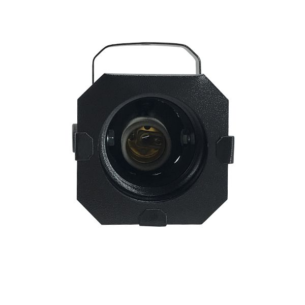 Kit 2 Unidades - Canhão Spot Par 20 Preto - Volt  - RS Som e Luz!