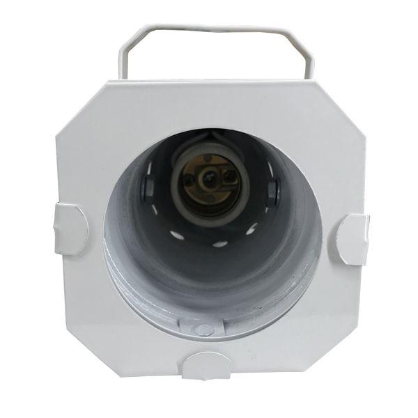 Kit 4 Unidades - Canhão Spot Par 20 Branco - Volt  - RS Som e Luz!