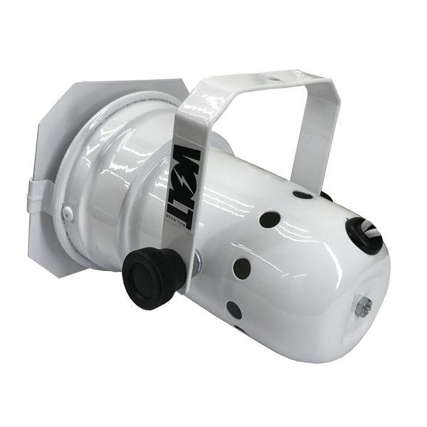 Kit 6 Unidades - Canhão Spot Par 20 Branco - Volt  - RS Som e Luz!