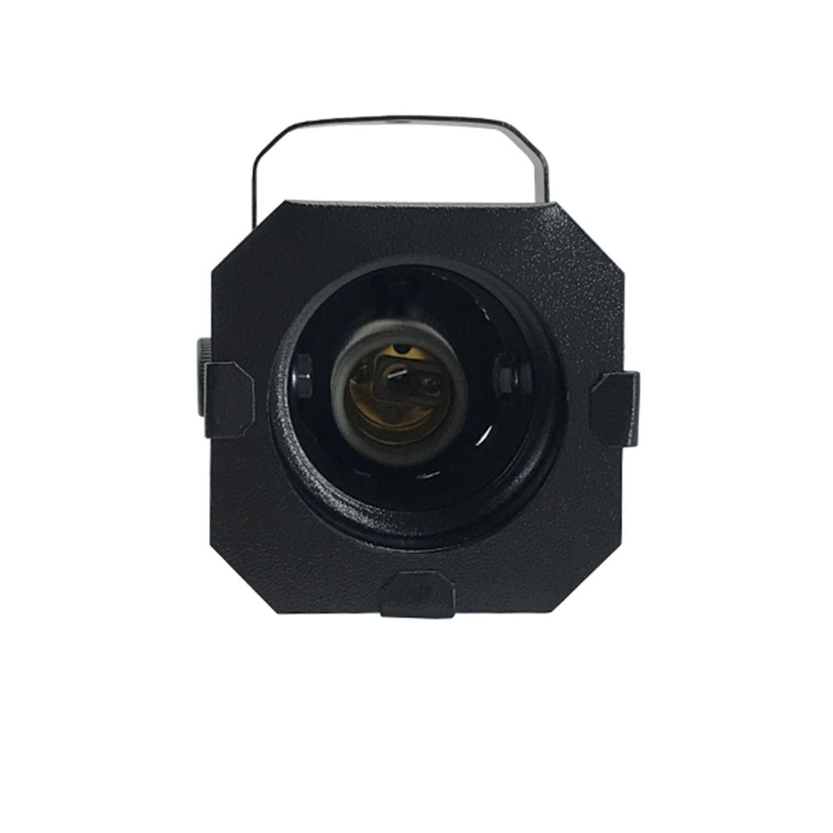 Kit 6 Unidades - Canhão Spot Par 20 Preto - Volt  - RS Som e Luz!