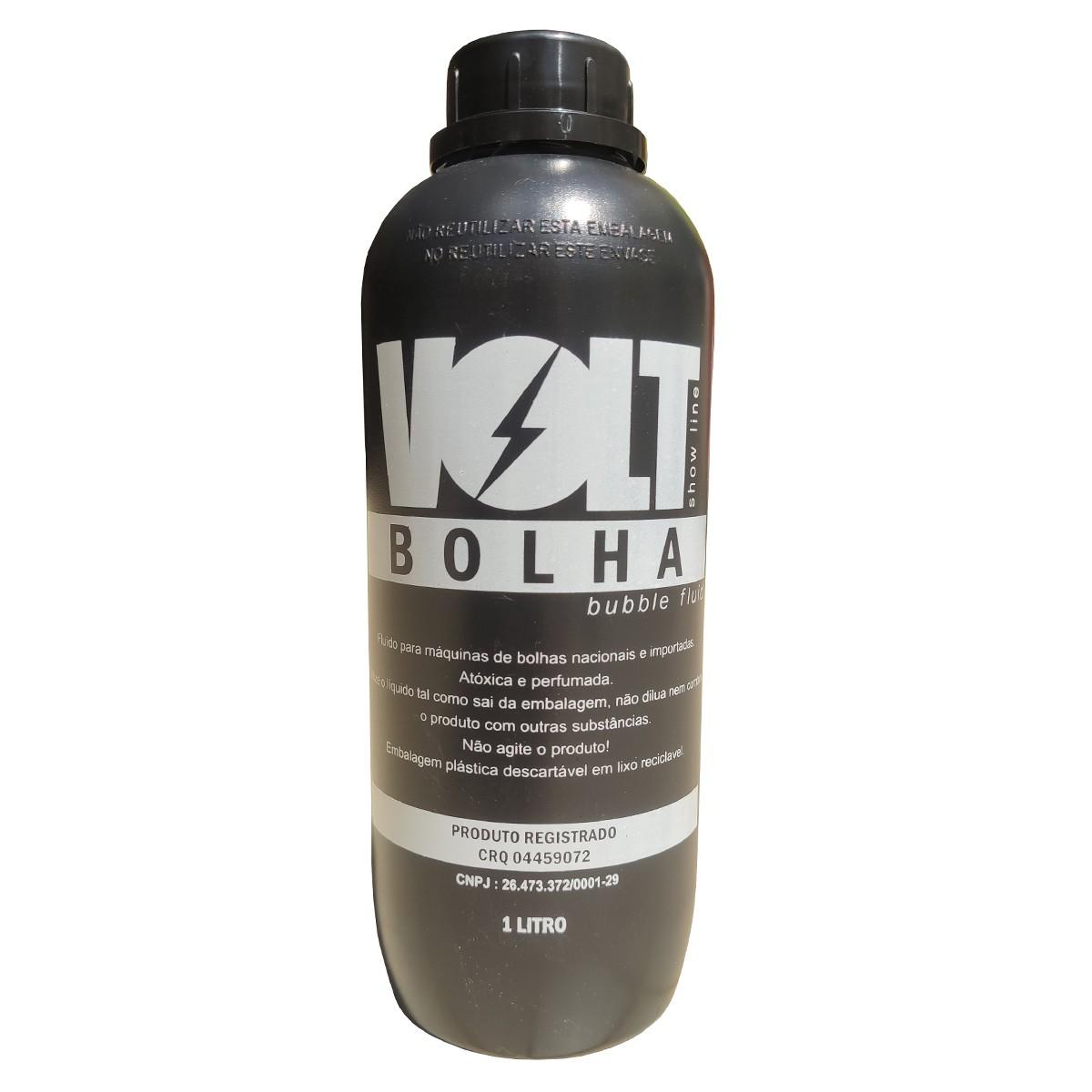 Liquido de Bolhas 1 Litro - Volt  - RS Som e Luz!