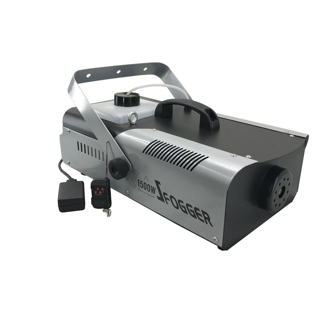 Máquina de Fumaça BX 1500w / 220v DMX com Controle s/ Fio - Briwax  - RS Som e Luz!