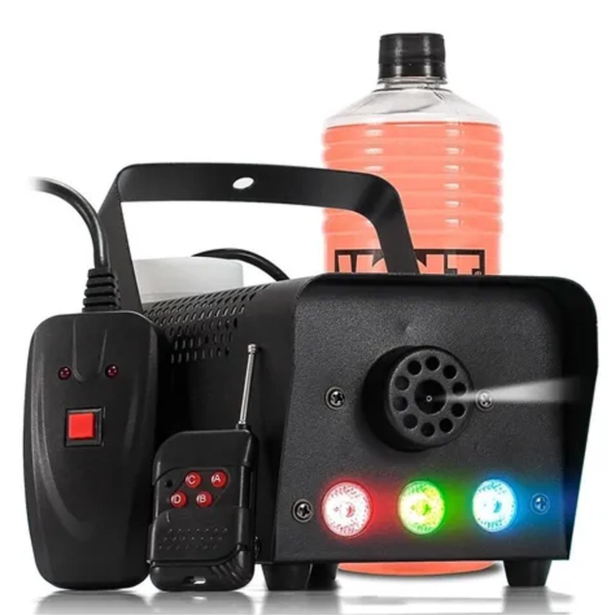 Maquina de Fumaca Led RGB BX 750 110v - Briwax  - RS Som e Luz!