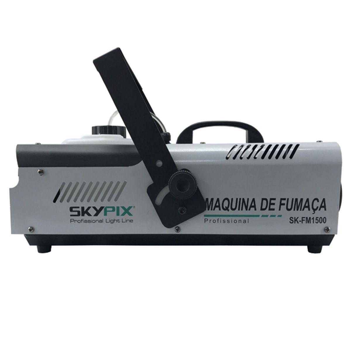 Máquina de Fumaça SK FM 1500 / 110v - Skypix  - RS Som e Luz!