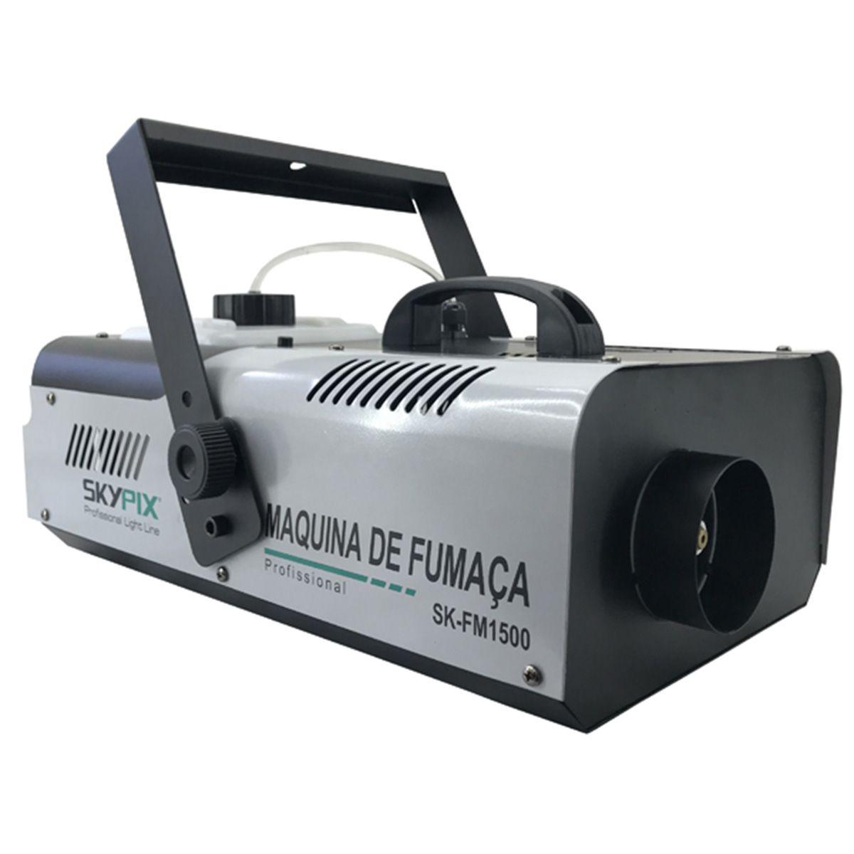 Máquina de Fumaça SK FM 1500 / 220v - Skypix  - RS Som e Luz!