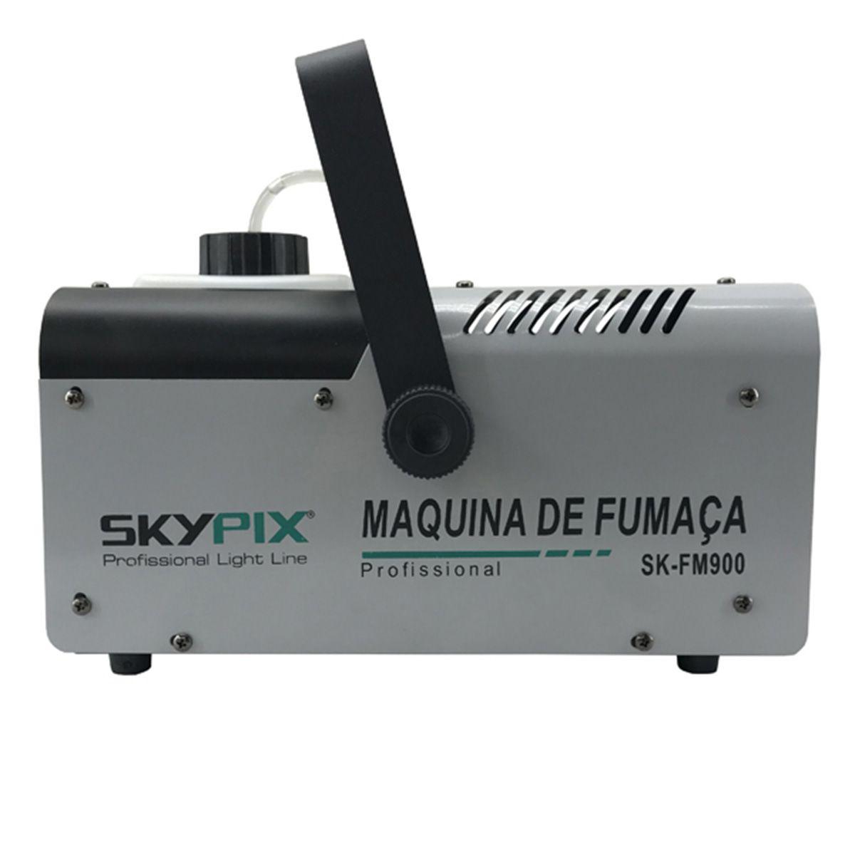 Máquina de Fumaça SK FM 900 / 110v - Skypix  - RS Som e Luz!