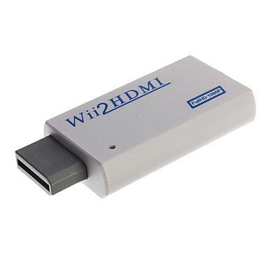 Adaptador Conversor HDMI para Nintendo WII