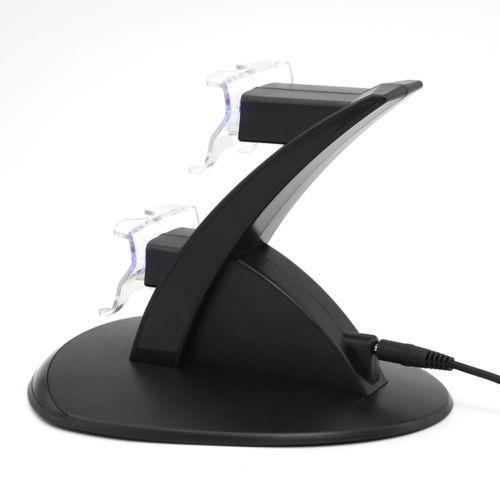 Base Carregador Controle Duplo Usb Dock Para Xbox One Com Luz