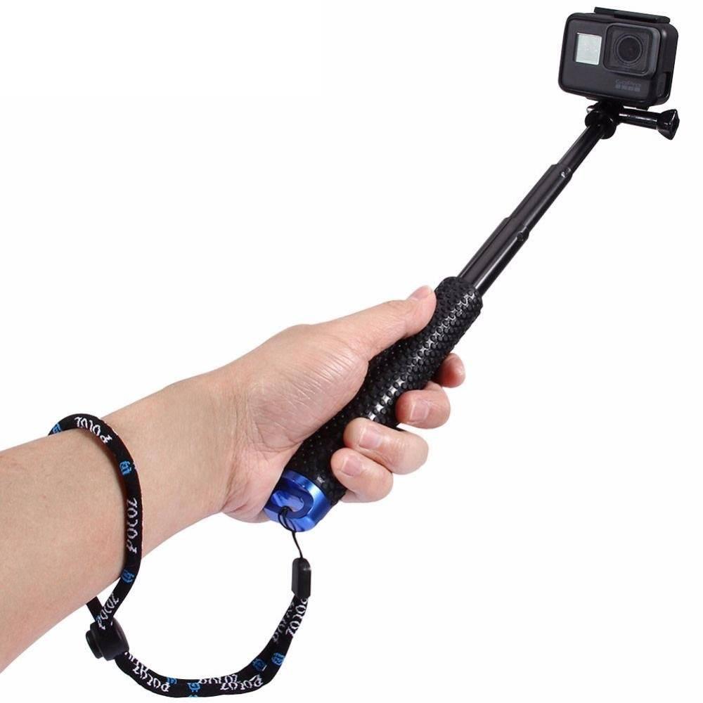 Bastão Extensor Pau de Selfie Aluminium Monopod Para Câmeras Hero