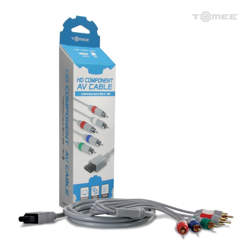 Cabo Video Componente para Wii e WiiU - Tomee