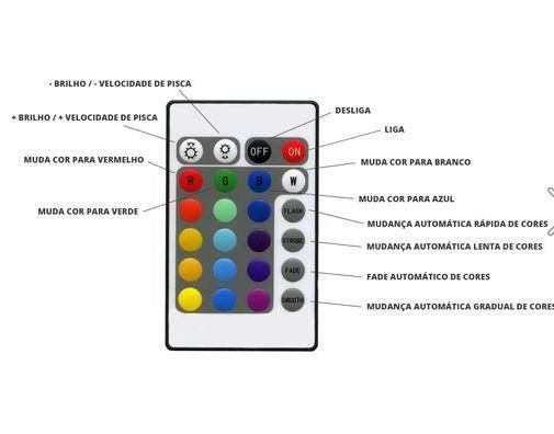 Caixa De Som Bluetooth Lâmpada Multi Led Wj-L2
