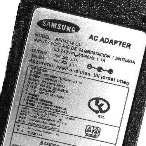 Carregador Fonte Notebook Samsung 19v = 2.1a (2707)