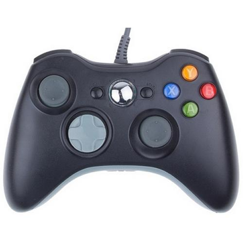 Controle Com Fio Para Xbox 360 Slim / Fat E Pc Joystick - Feir