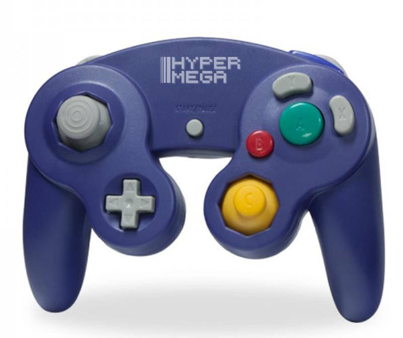 Controle para Gamecube / Wii Roxo - Hyper Mega