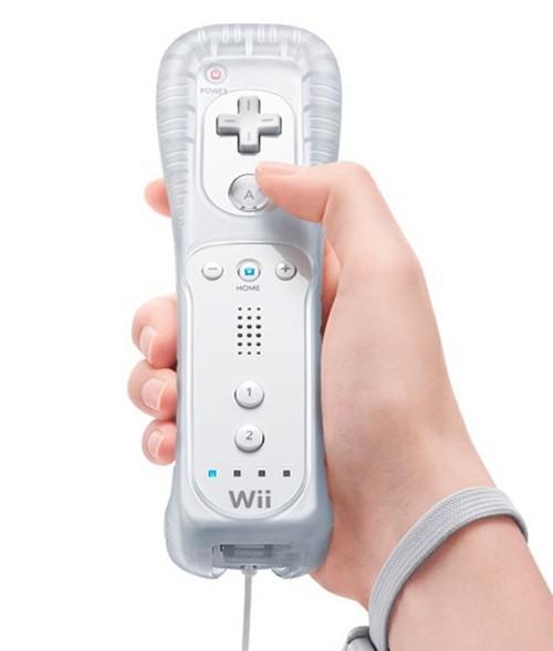 Controle Remote Wii E Wii U Branco