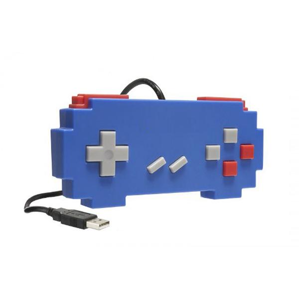 Controle USB para PC/MAC Pixel Art Azul - Hyperkin