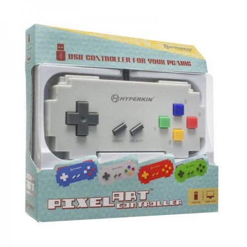 Controle USB para PC/MAC Pixel Art Famicon - Hyperkin