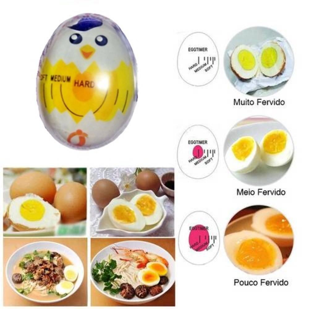 Egg Timer Para Cozimento De Ovos Temporizador De Ovo