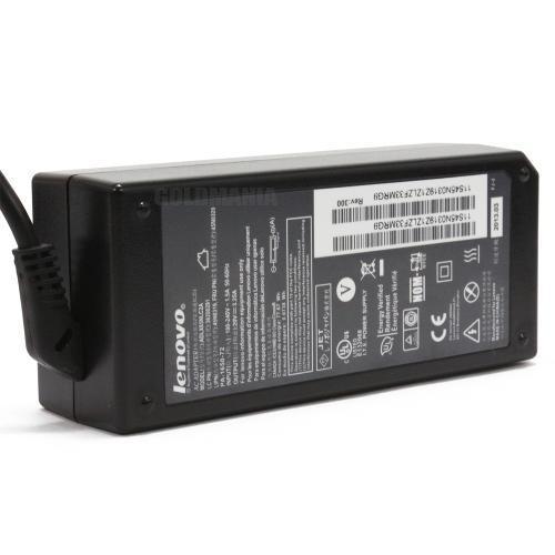 Fonte Carregador Notebook Lenovo G400 20V 3.25A - 65w - Plug Retangular