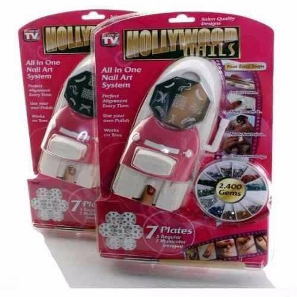 Kit Decorador De Unha Hollywood Nails