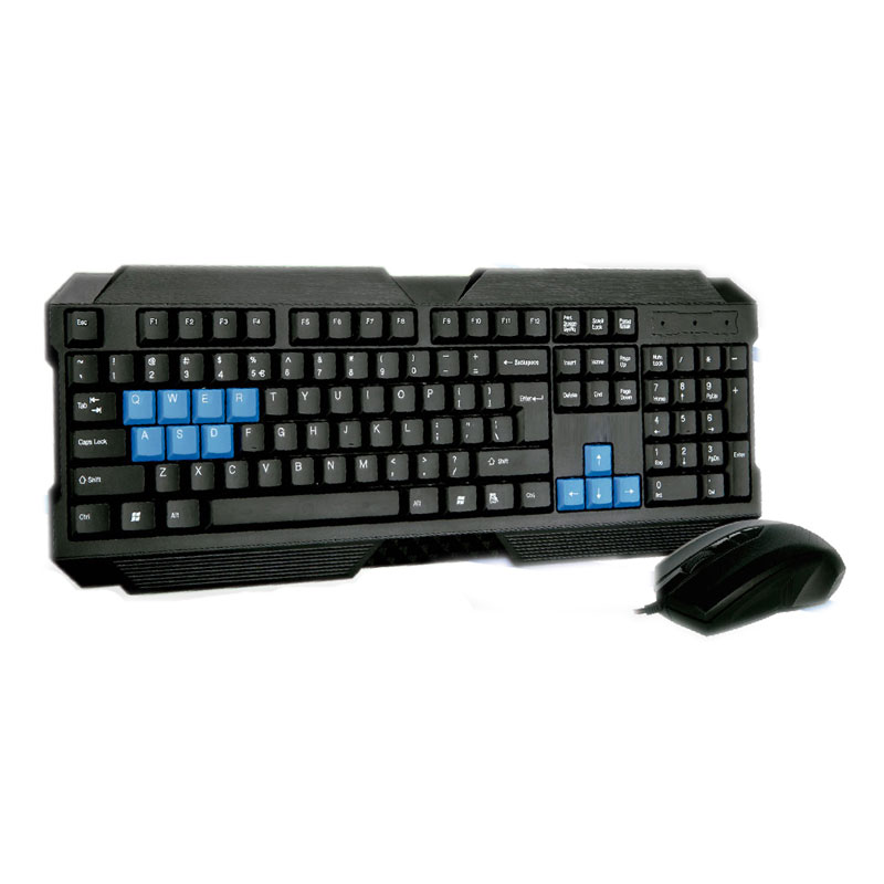 Kit Mouse e Teclado Gamer Evolution ABNT2 USB HM888+ - HYPER MEGA