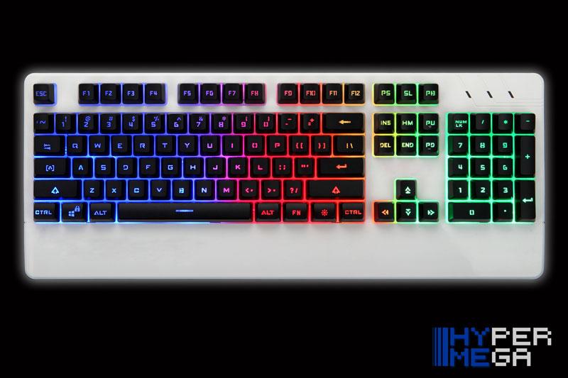 Teclado E-Sports Gaming Elite - R400HM - Hyper Mega