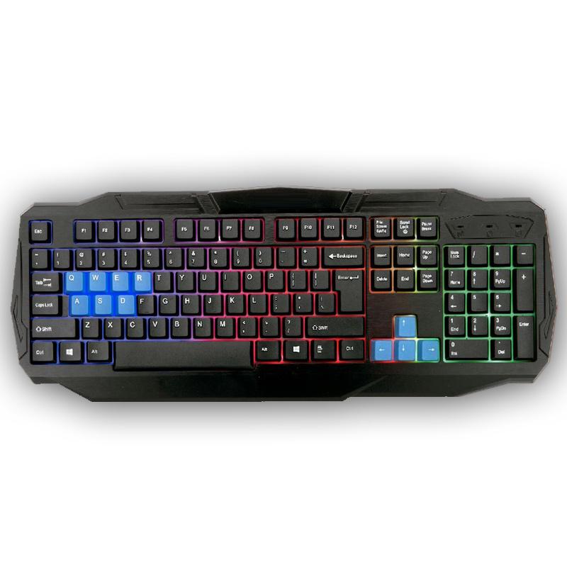 Teclado Gamer E-Sports Iluminado X81HM - Hyper Mega