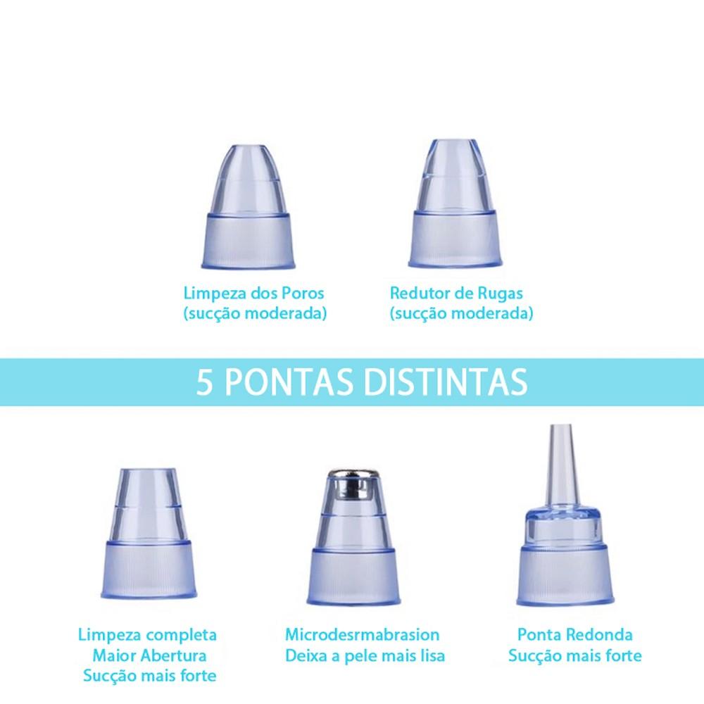 Tira Cravos Premium 5 Pontas Recarregável Lançamento